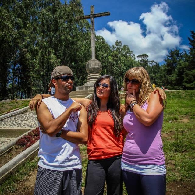 Noe, Kacie, and Kristen Rene