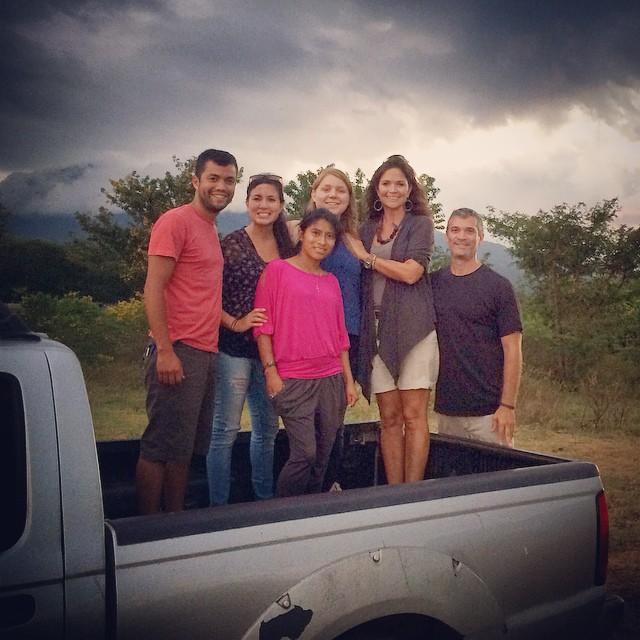 With Scott and Jennifer Esposito in Granada, Nicaragua