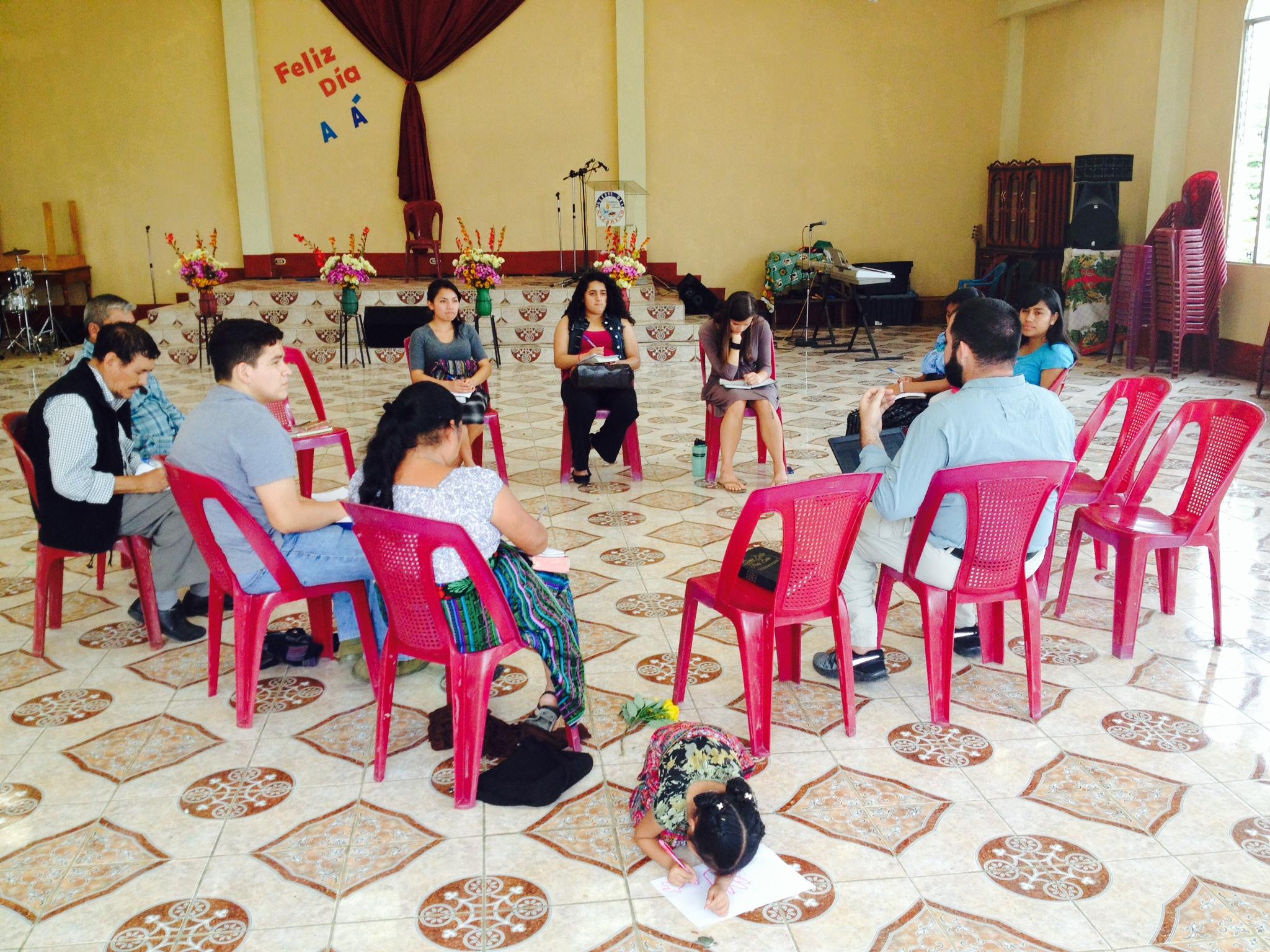 Missions training at Lake Atitlan