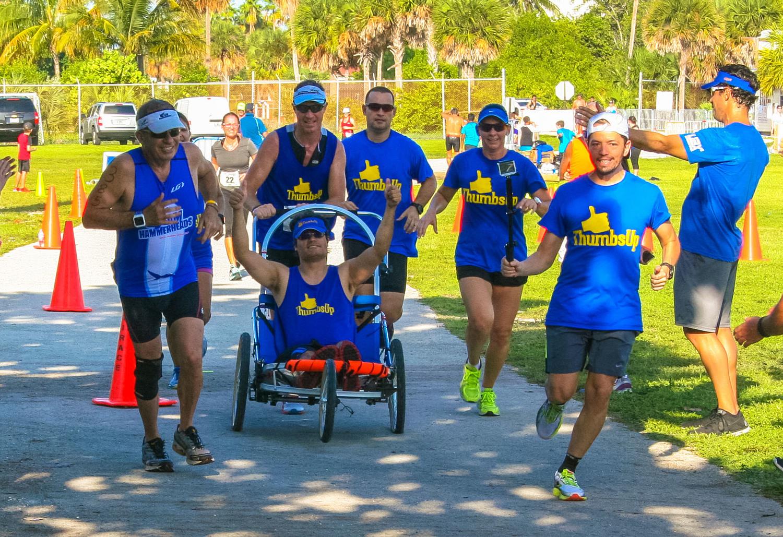 Team Thumbs Up! So humbling and inspiring!