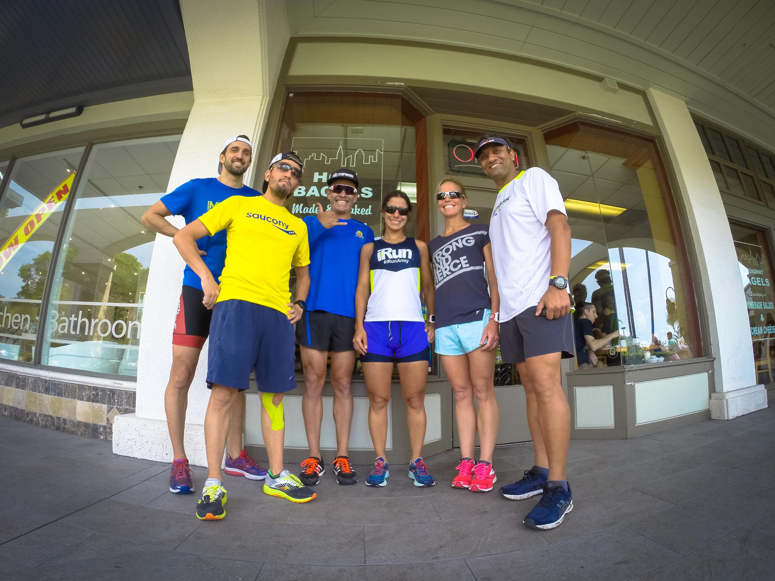 The Ironman Texas crew on Saturday!