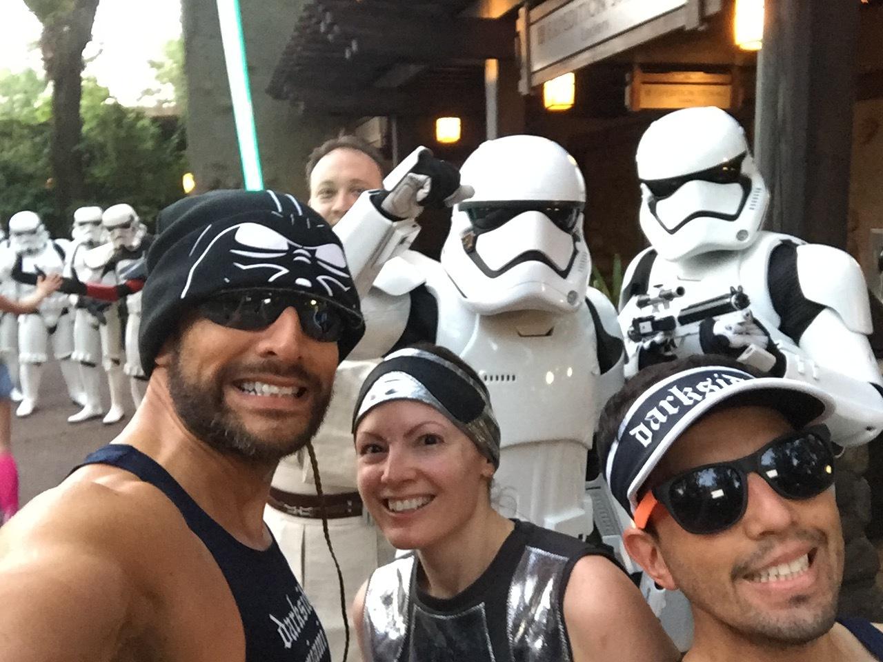 Best weekend ever at the Star Wars Half Marathon - The DARKSIDE