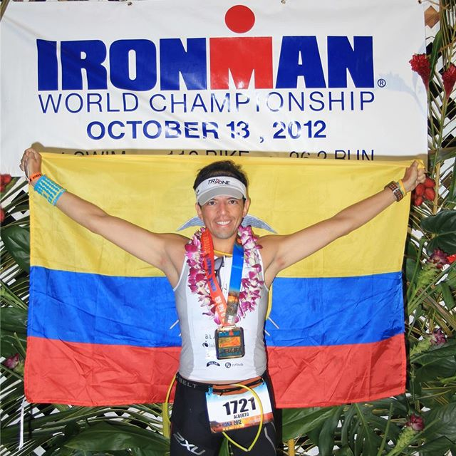 "Today exactly 6 years ago. It was not only a hard and amazing experience racing the Ironman World Championship, but October 13 was also my dad's last bday. He would have been 70 today. While in Kona he wrote me the following: ""Thank you my son,  I'm with you today and this is my best gift in my life, that you have gotten to the finish line and become what you have fought and sacrificed all these months. I am witness of your effort and decision to accomplish an objective  that not all mortals can accomplish, keep moving forward my son""  Happy bday Dad and Happy Kona Day everyone, keep moving forward! ************************************ #run #running #triathlete #training #miami #triathlon #ironman #pandakick #road2ironman #betoworldwide #gopandago #guayaquil #ecuador #imkona"