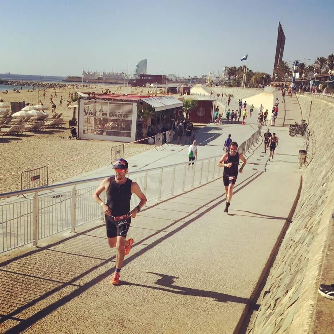 Last stretch of the run