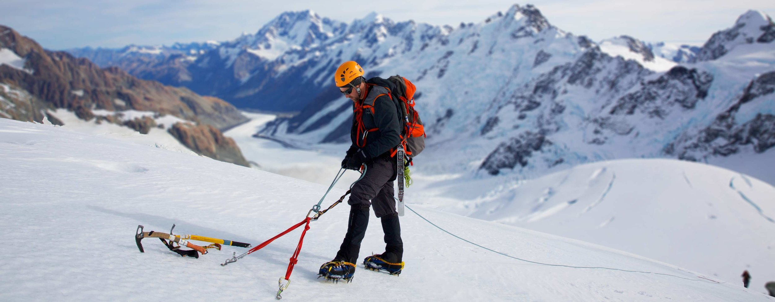 Climbing Instruction Courses   Learn the ropes on snow, ice, and rock