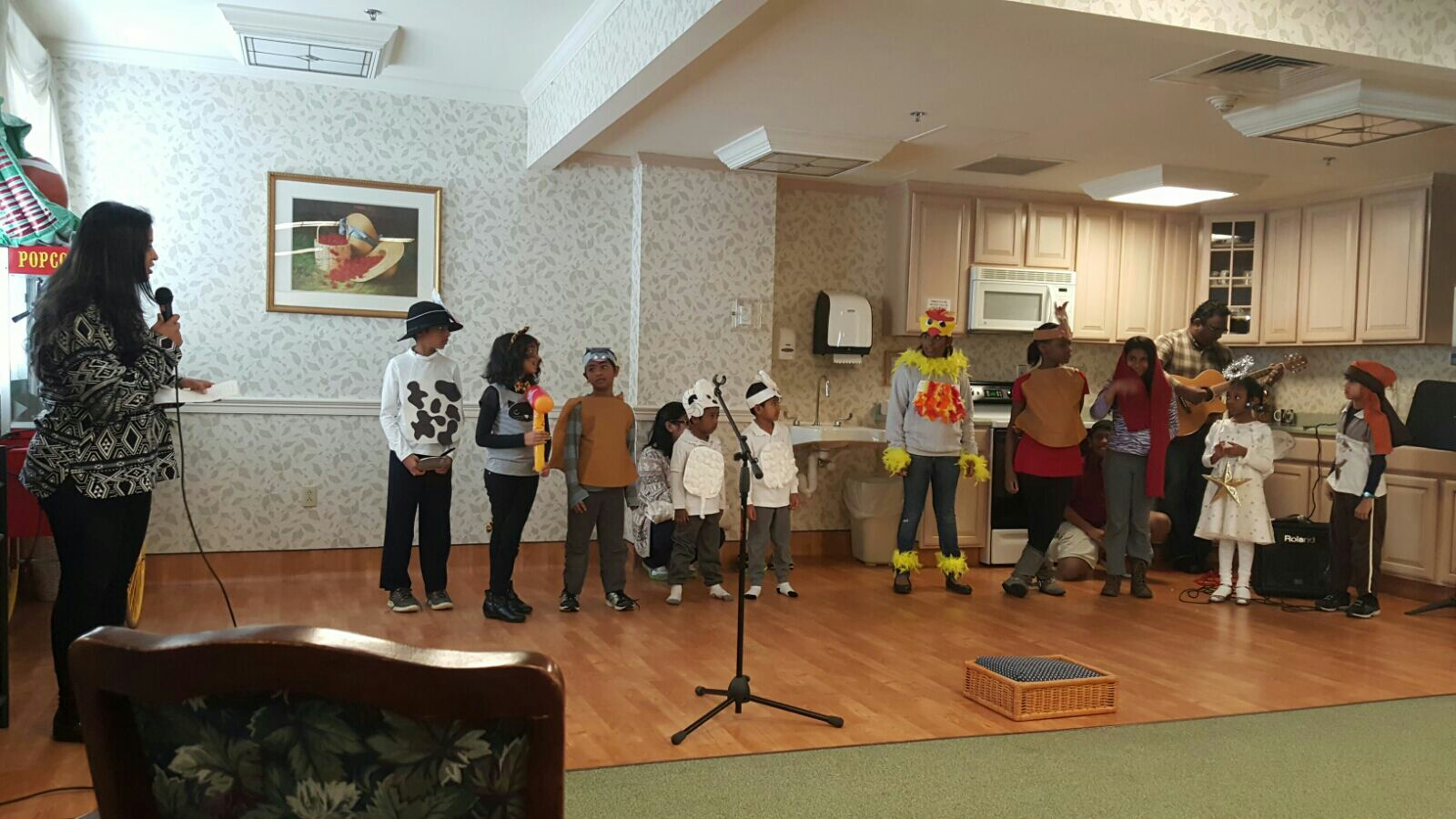 Outreach - Skit by HICF chuildren - Who stole the hay?