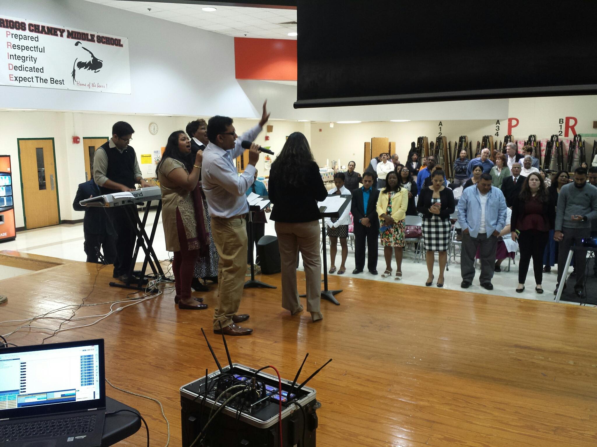 Praise and Worship at HICF