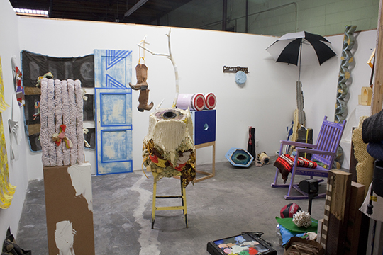 Kyla's studio in Los Angeles.