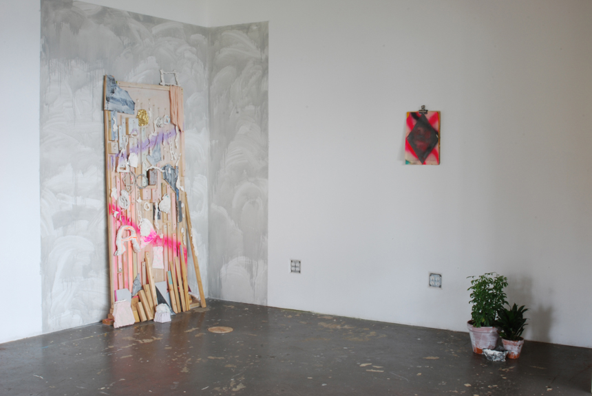 Fertility Goddess' Survival Kit and City of Tomorrow (Palimpsest), installation view, 2013