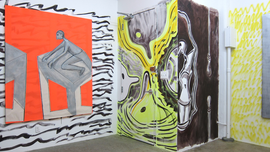 Hug Me, Squeeze Me , 2016,CRUSH Curatorial Installation