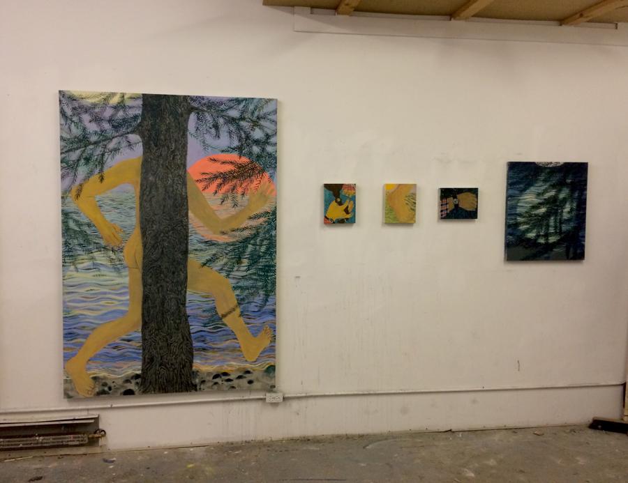 Giordanne's Brooklyn studio