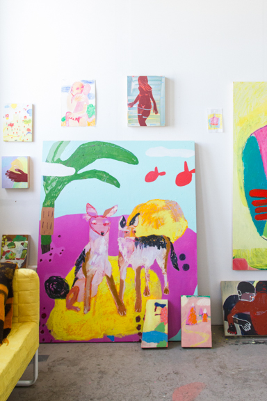 Kimia's Brooklyn Studio