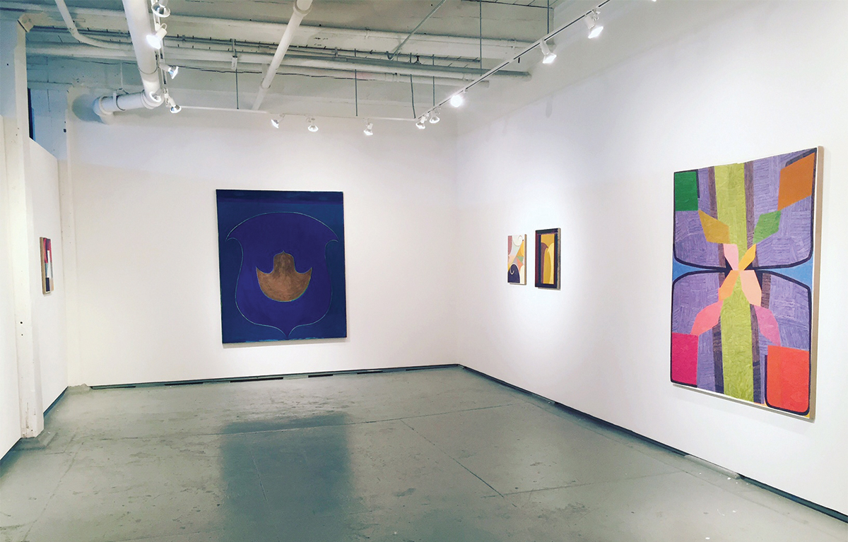 Installation View:Matt Phillips and Travis Fairclough, About Looking , January 2017