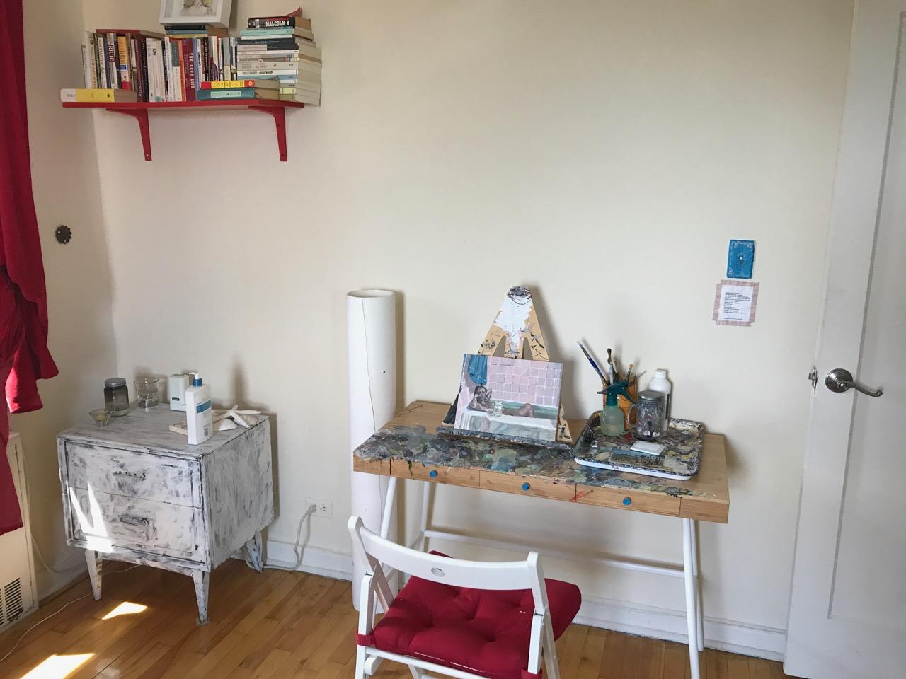Polina's studio
