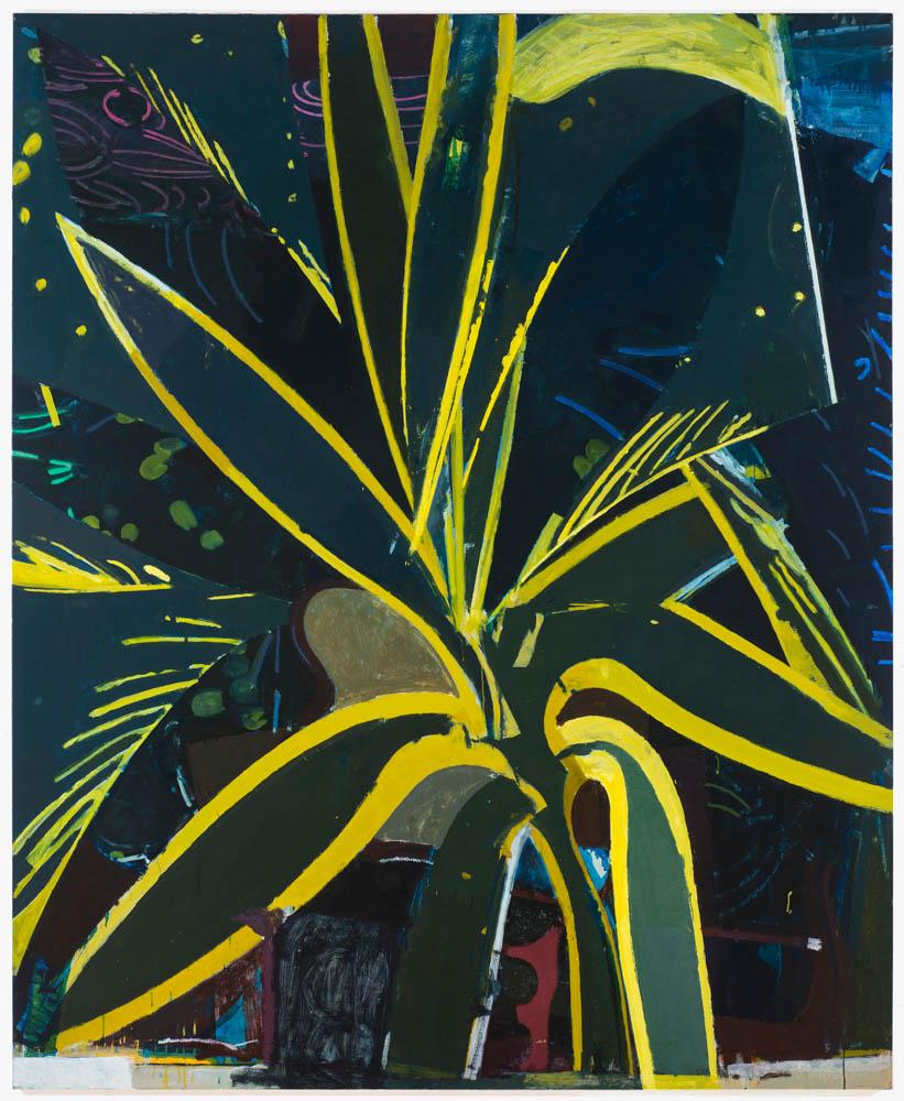 starburst , 2015 oil on linen 84 x 70 in
