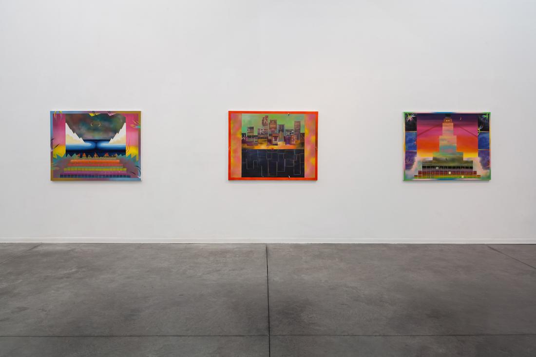 Install shot at Hezi Cohen Gallery