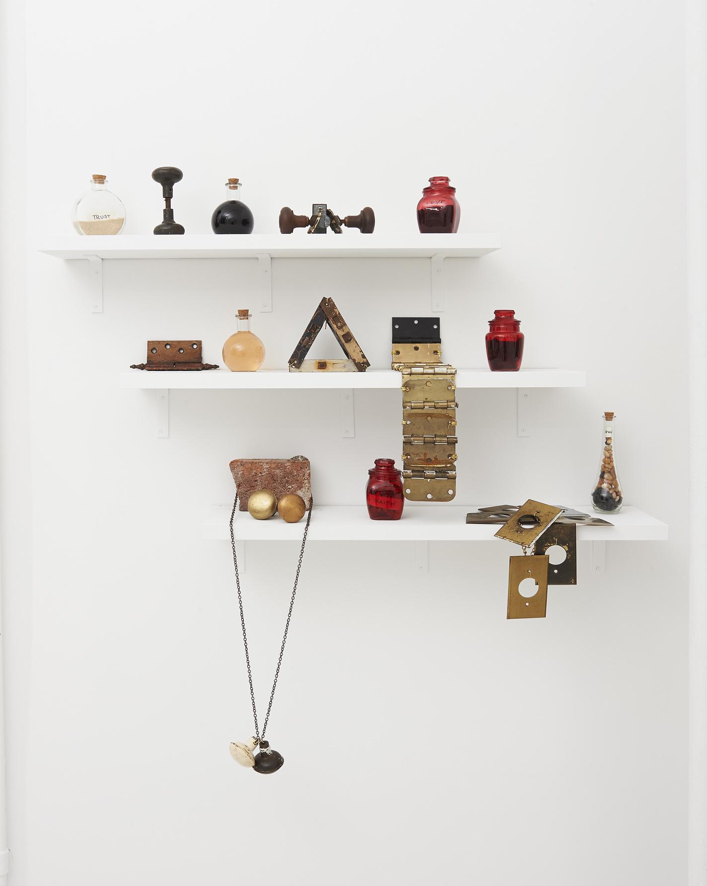 Helena Metaferia installation, in  Homefree.  Photo by Photos by Masaki Hori Photography.