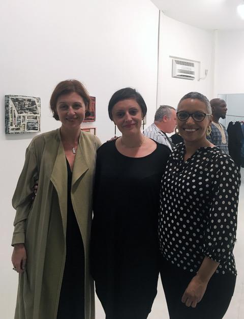 Assembly Room founders, Yulia Topchiy, Paola Gallio, and Natasha Becker. Photo by MyOrb.