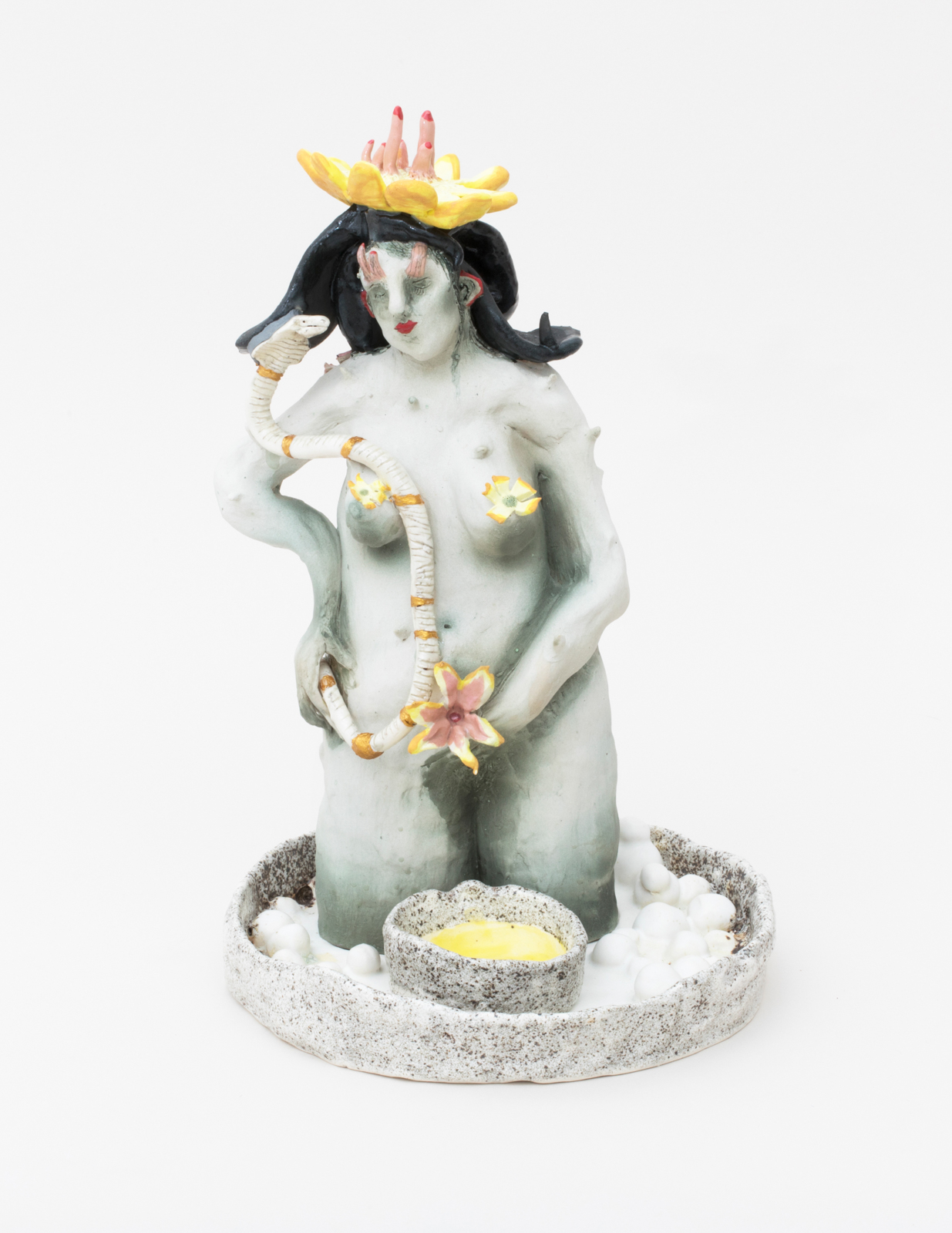 Pissing in Mother Nature's Cu p, 2018 Glazed Porcelain 11.5 × 7 × 7 inches
