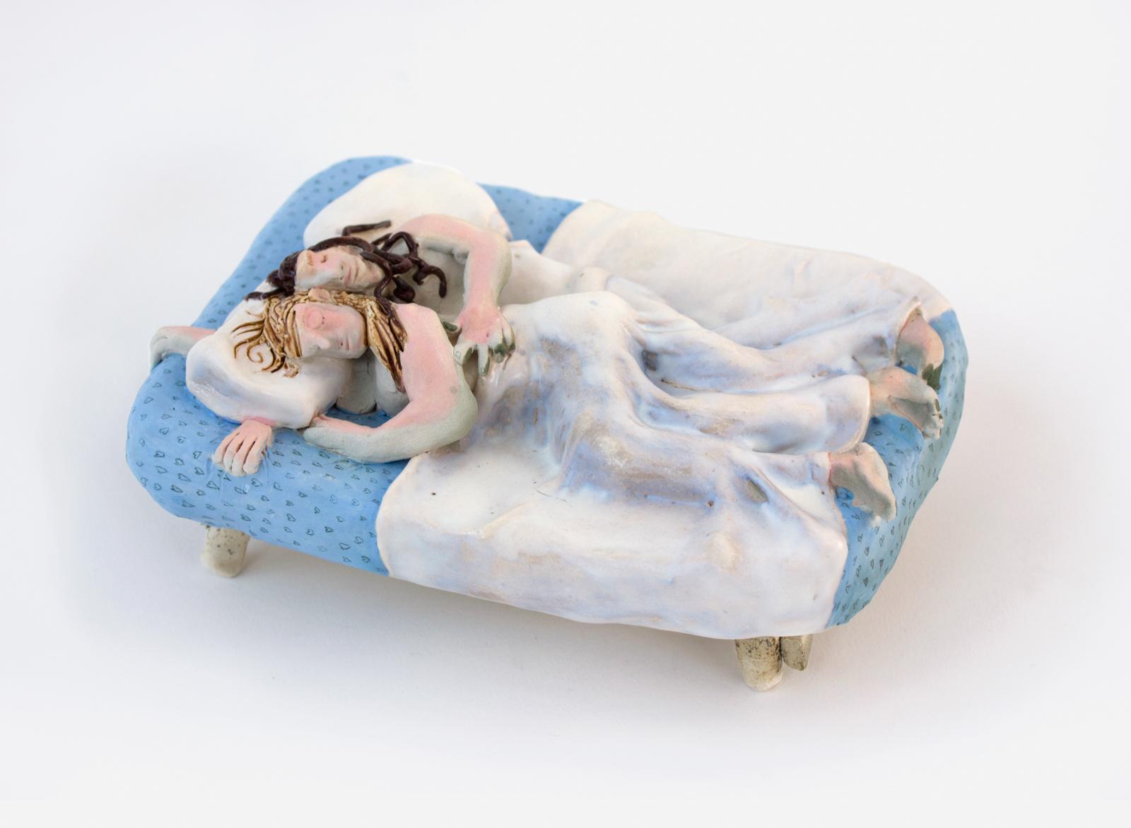 Sleep With You , 2018. Glazed Porcelain, 8.5 x 6.5 x 3.5 inches