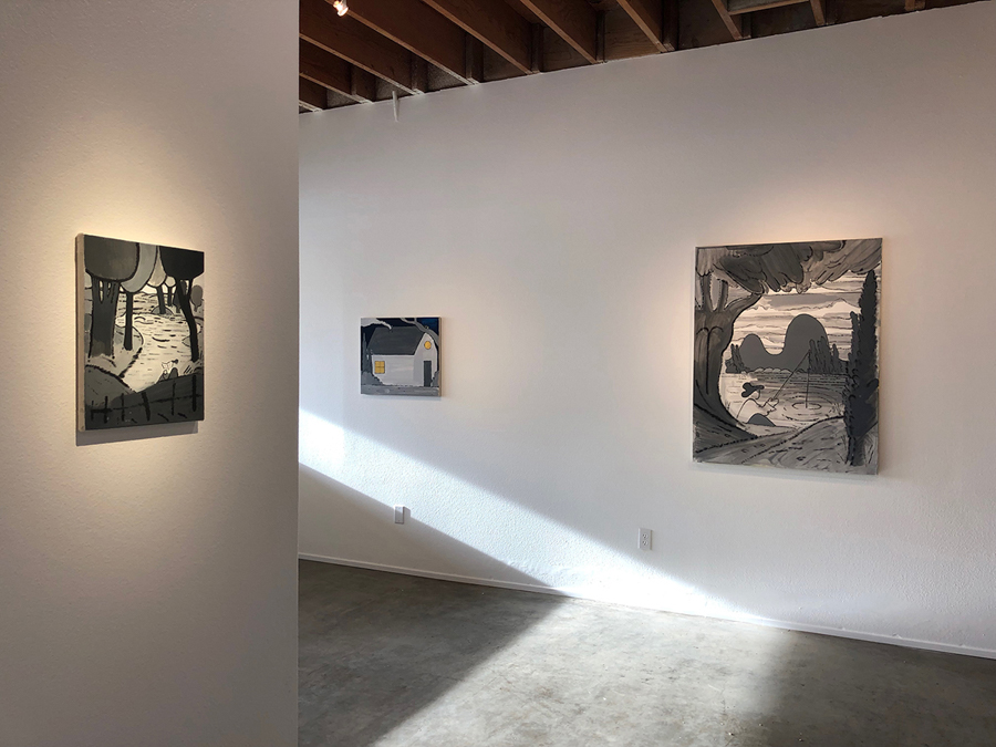 Solo show of work by Brian Scott Campbell at Left Field