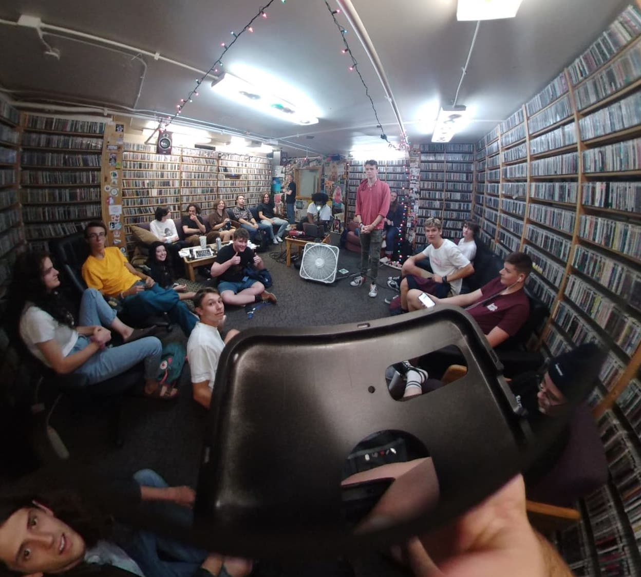 360-degree photo from one of our September Volunteer Meetings, taken by Karsten Shtanko.