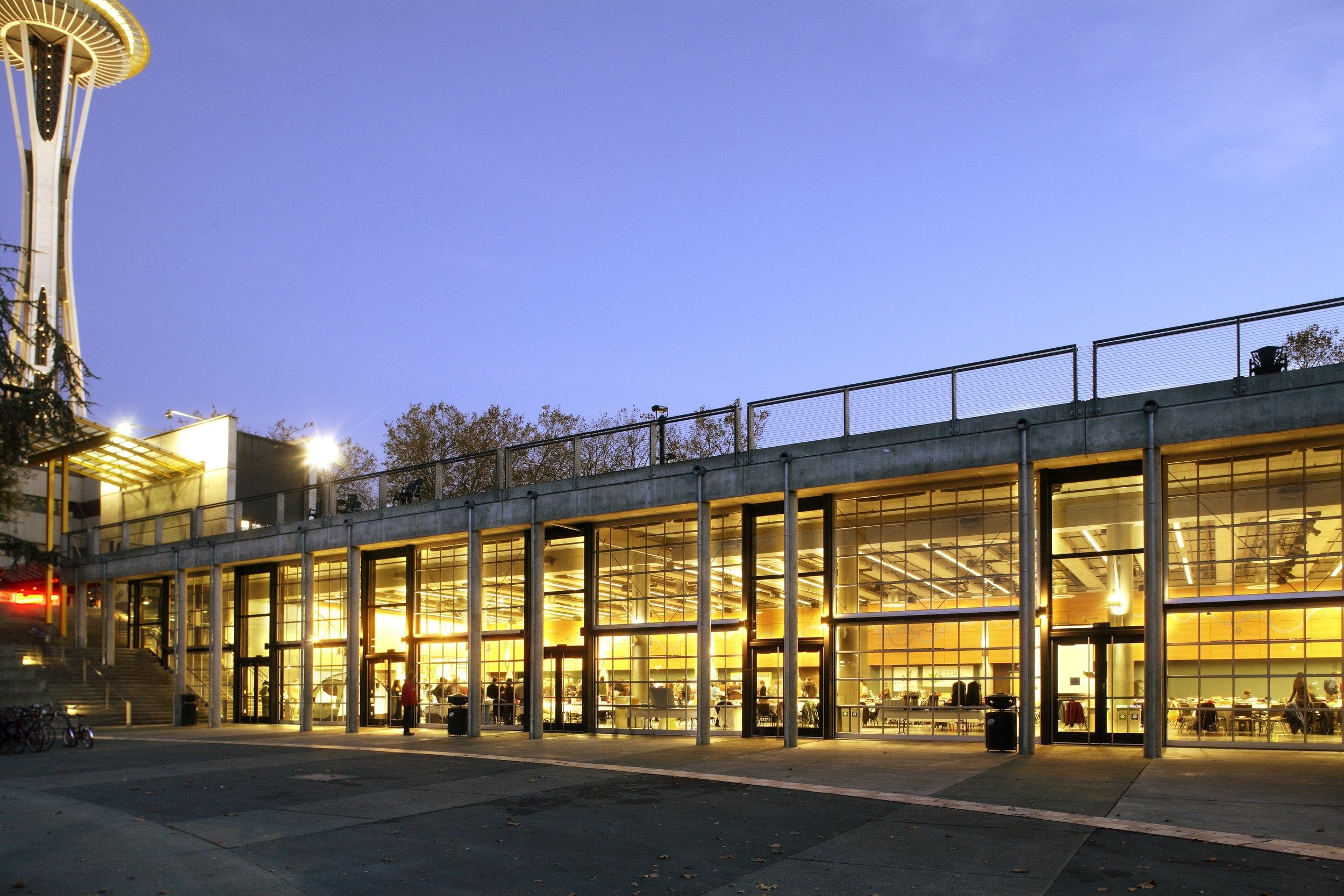 Seattle Center - Fisher Pavillion