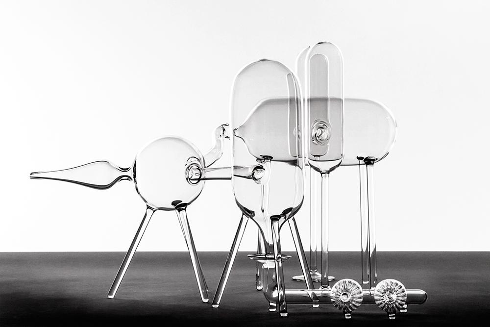 El Ultimo Grito   Male  Unique Glass W55 x L65 x H35cm