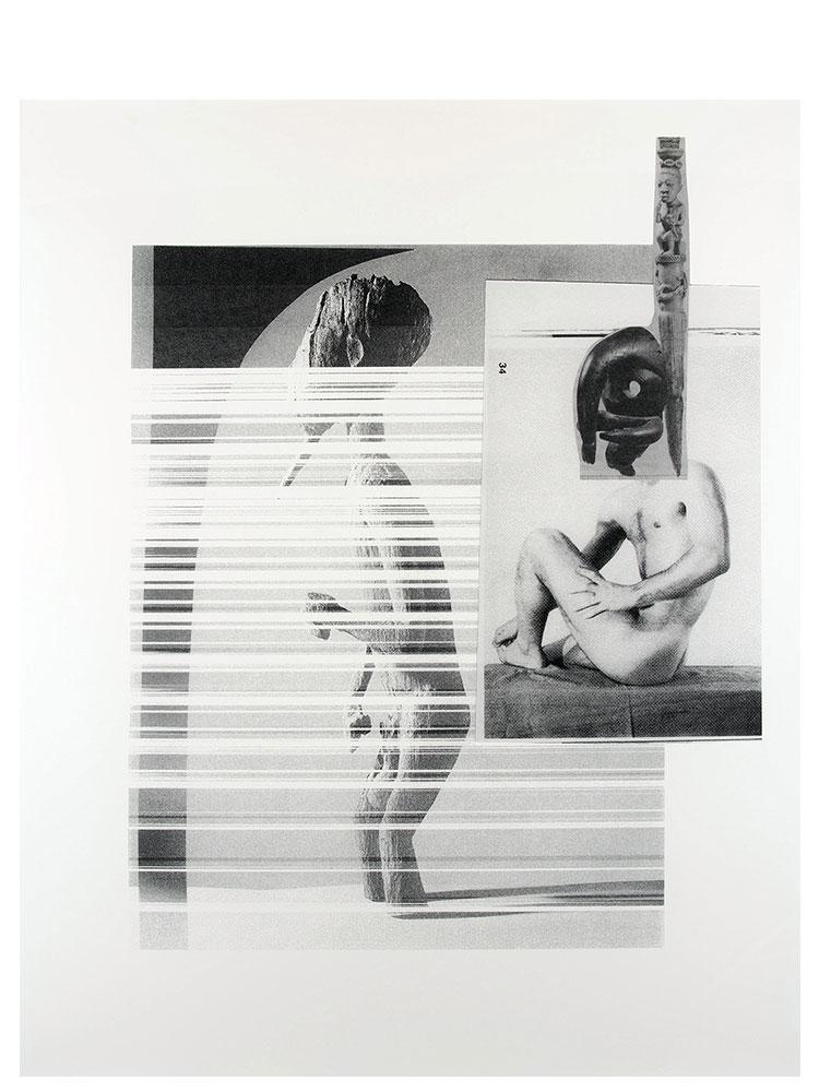 Simon Moretti   Untitled  2014 Screen print h162.4 x w132.5 cm Edition of 3 + 2 AP