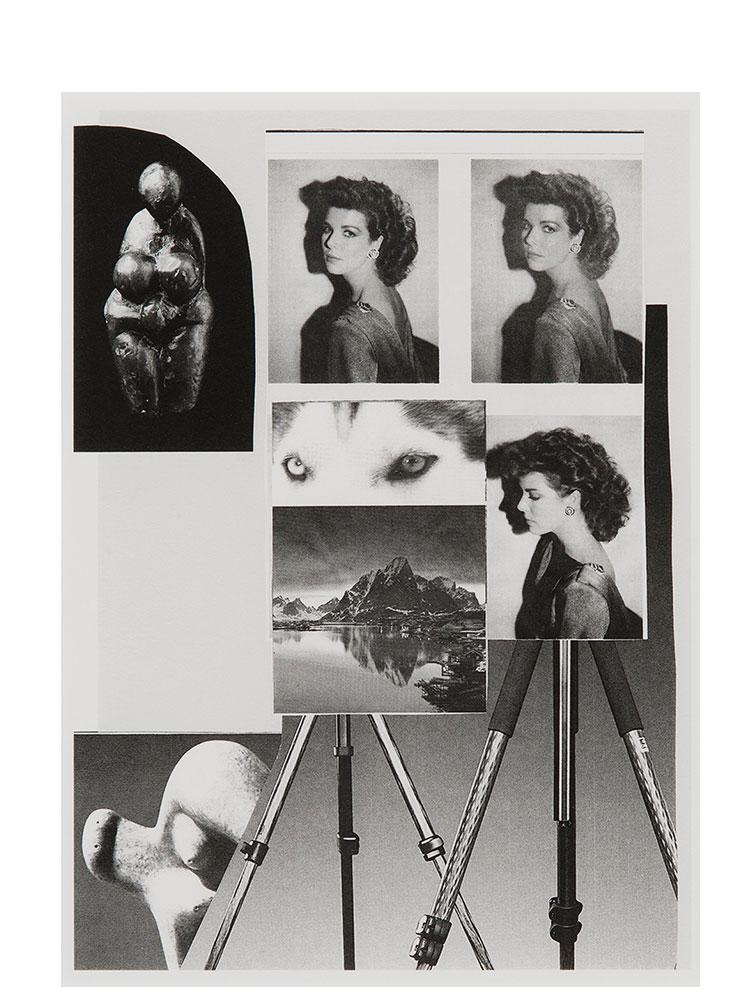 Simon Moretti   Untitled (Je Est Un Autre)  2014 Silver gelatin print 47.6 x 37.8 cm Edition of 5 + 2 AP
