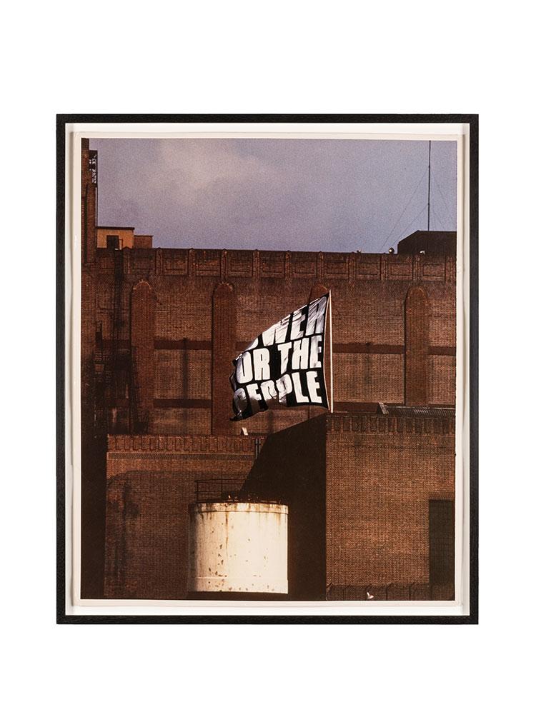 Rose Finn-Kelcey   Power for the People  1972 Documentation photograph #2 Colour photograph W 61 x H 85.5 x D 4 cm Unique
