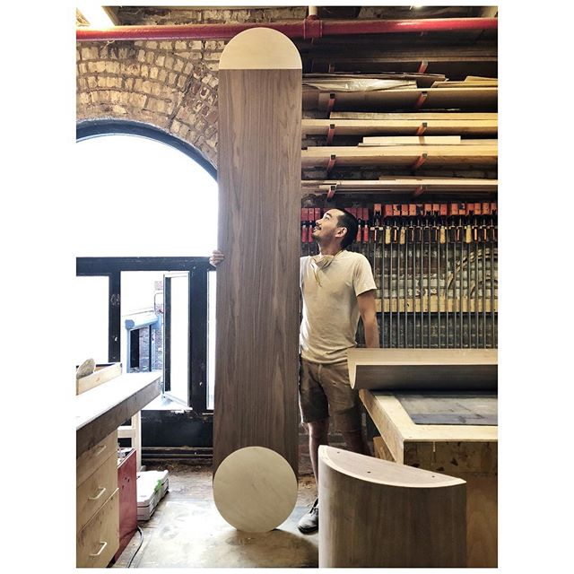 9 foot long custom #gibboustable 😄