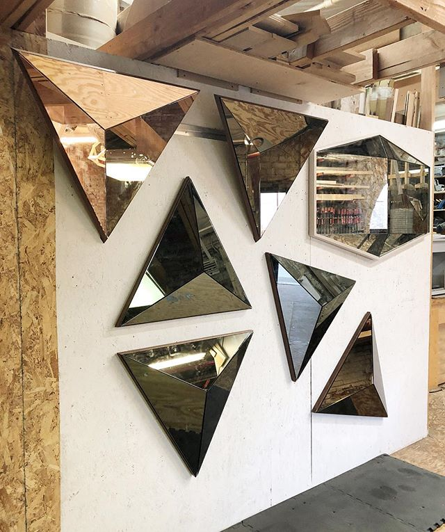 Last few mirrors before vacay 😅 #volumemirror #gemmirror
