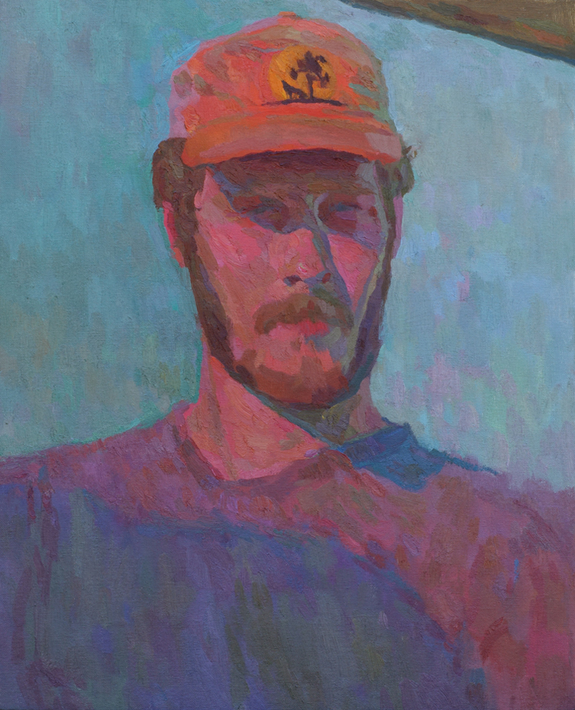Self-Portrait at Sunset, 2016