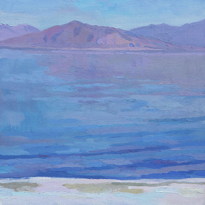 Distant and Dreamlike (The Salton Sea), 12x12
