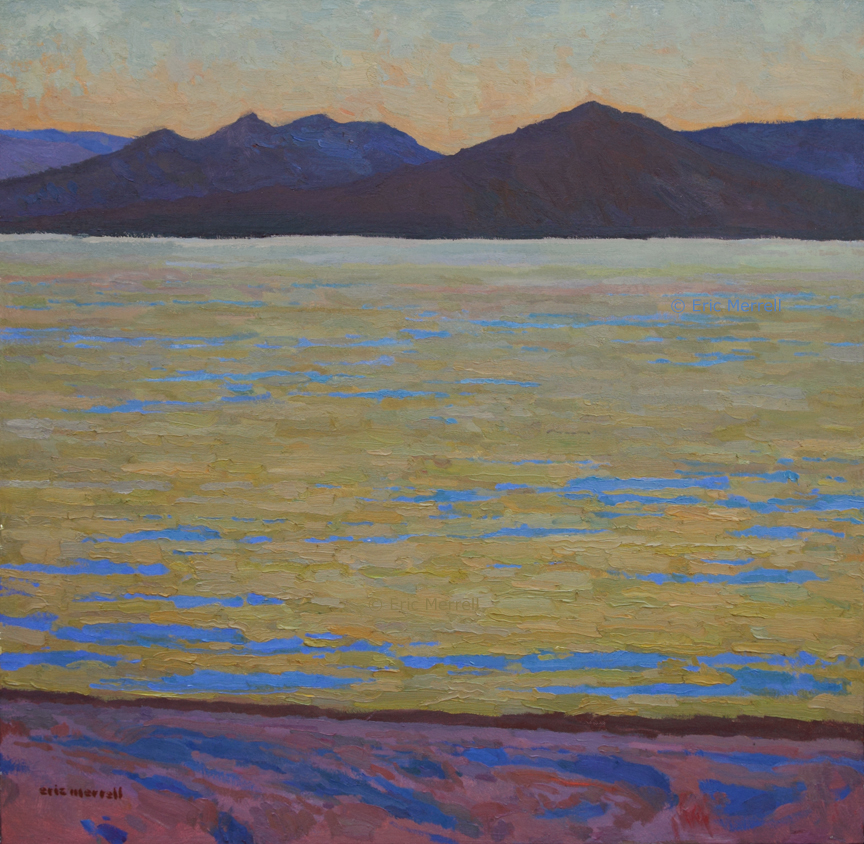 Desert Twilight - The Salton Sea