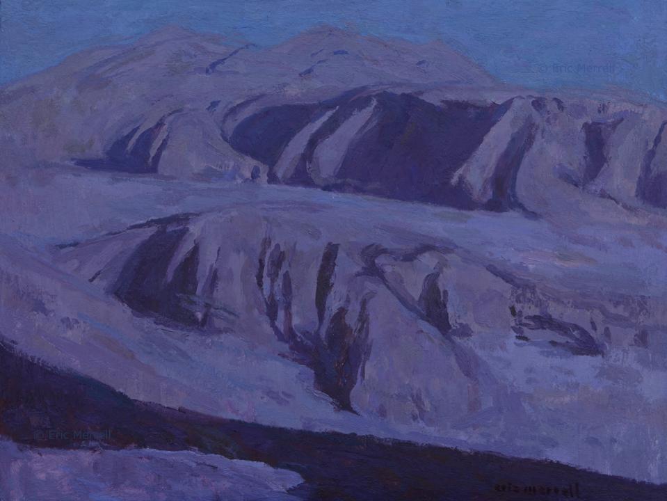 Deep in Desert Night