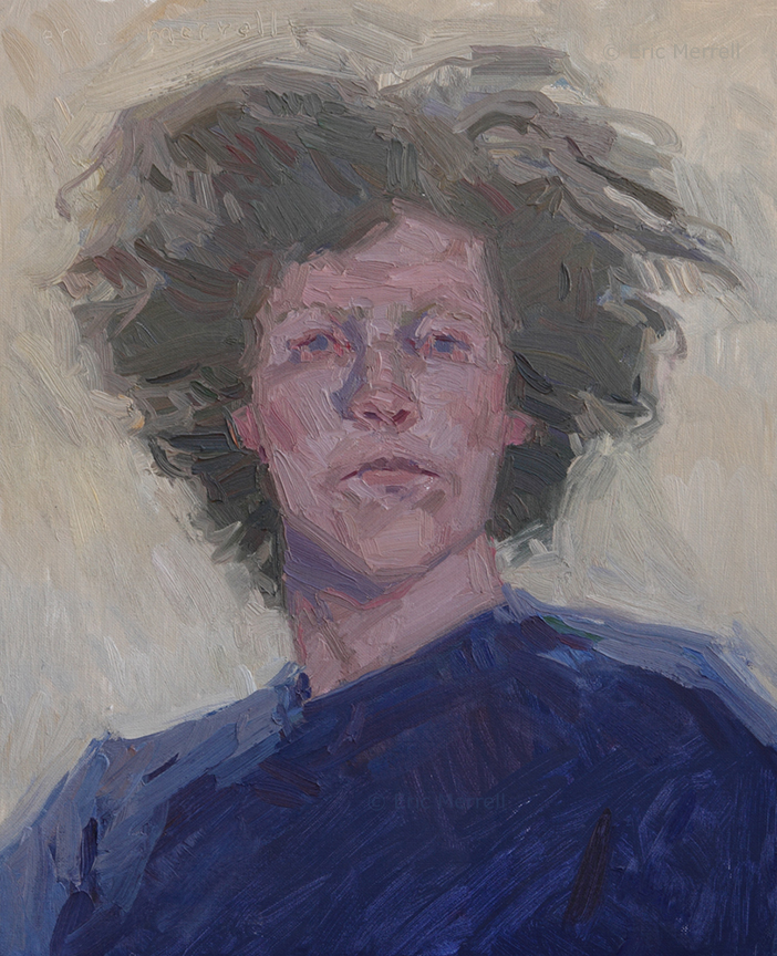 Self-Portrait with Cool Light (2005)