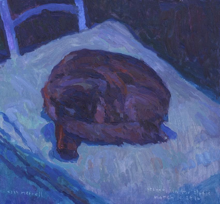 Grendel Sleeping