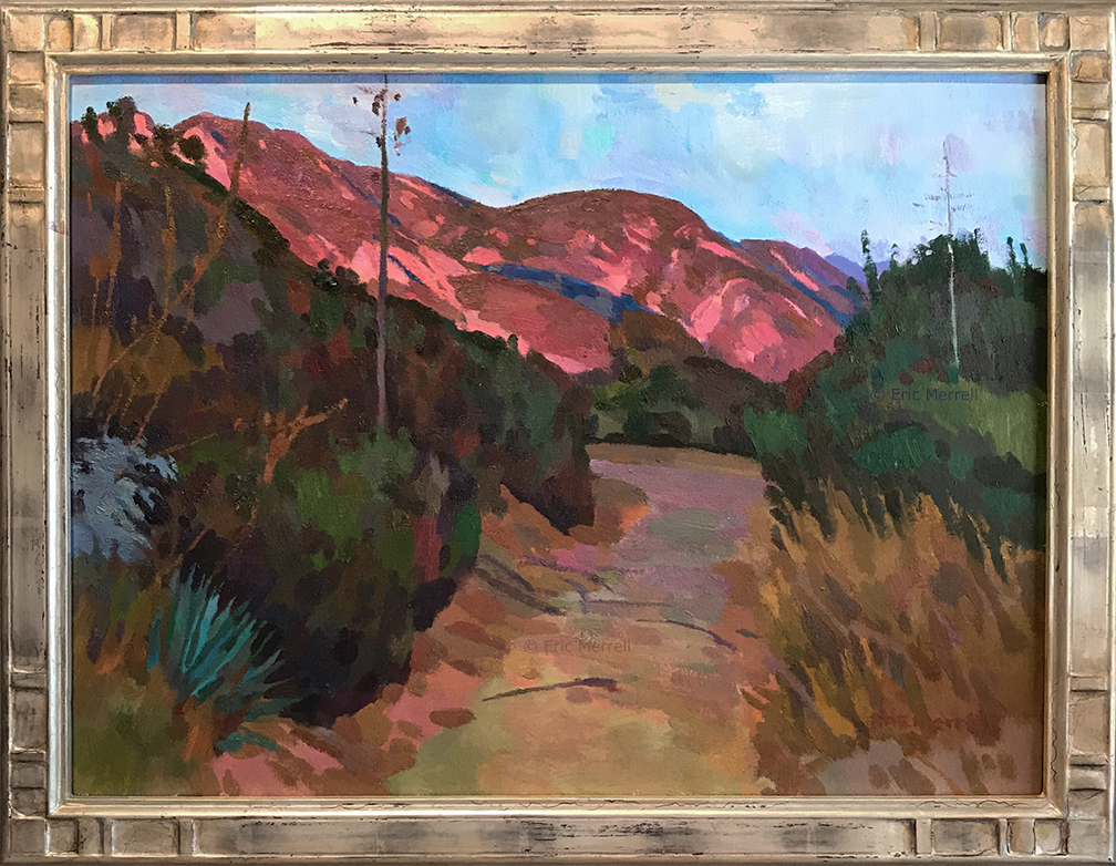 Eric Merrell, Through the Chaparral, 18x24