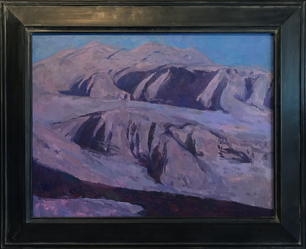 Eric Merrell, Deep in Desert Night, 18x24