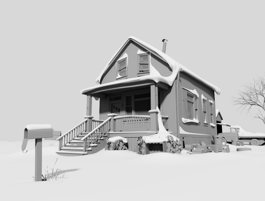Lonely Boy House Sequence