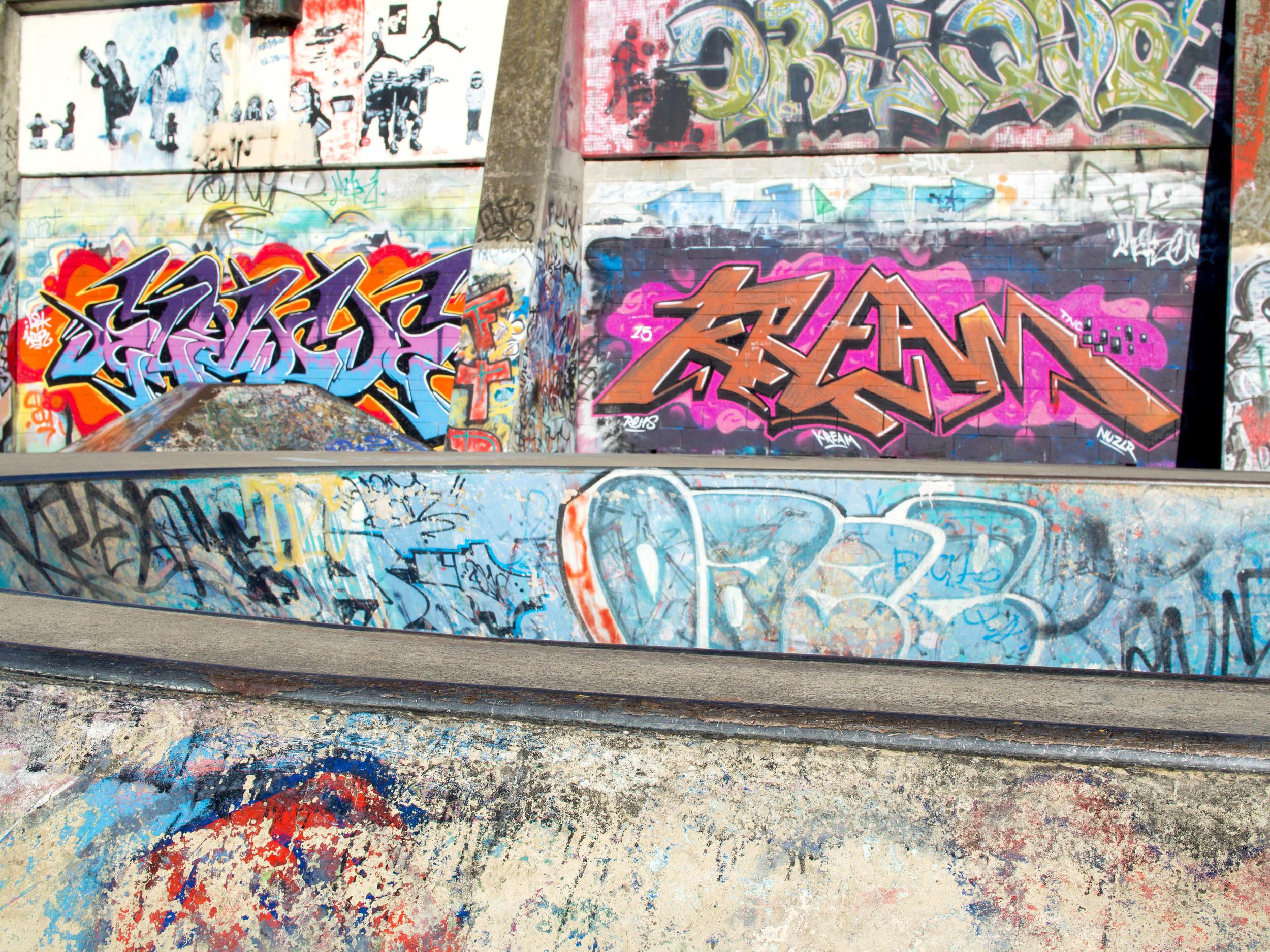 Skate Park Launceston Tasmania. OMD 25mm f1.8