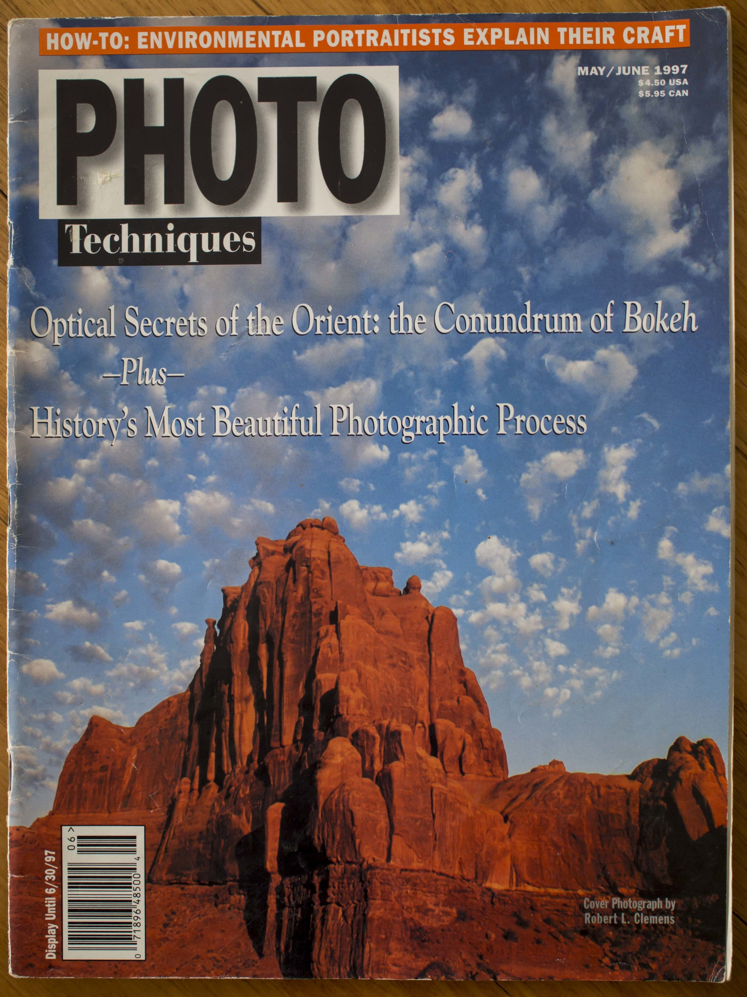 Unassuming, classy and modest, this periodical was an automatic buy for me along with Camera and Darkroom, mostly for the articles about photographers current and retrospective or advanced technique as well as the dry wisdom of David Vestal. Pretty good condition considering. I still have a hoard of 50 or so mags from this era, as they are far too precious to me to toss. It is amazing how relevant they still are.