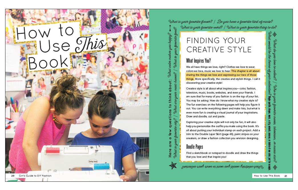 Girls' Guide to DIY Fashion
