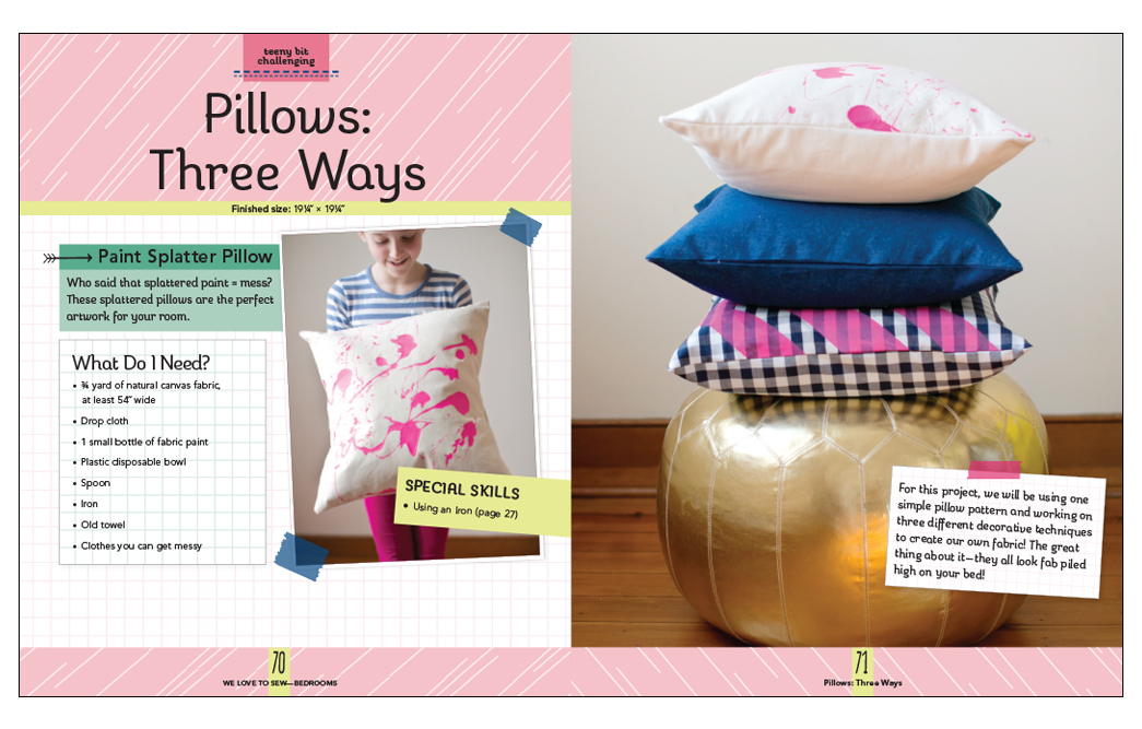 We Love to Sew: Bedrooms