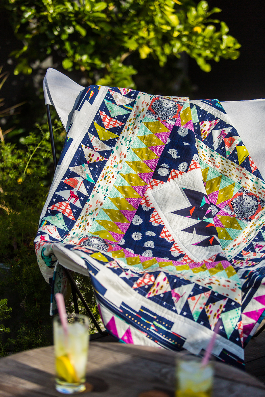 Quilt made by Nancy Purvis