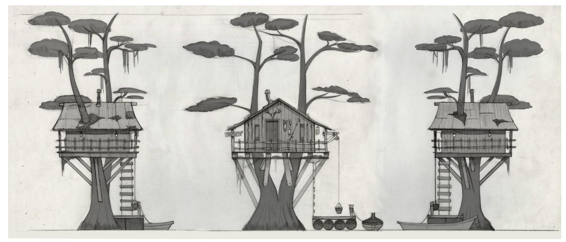 Tree House Turnaround