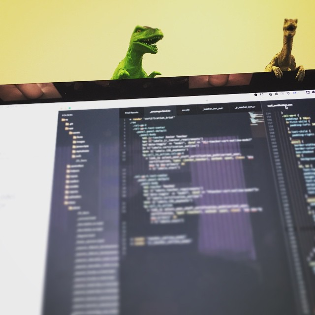 Damn it #Theodore lolly gagging and get down from there. That #SASS is not gonna #write itself. We are suppose to be #pair #programming.