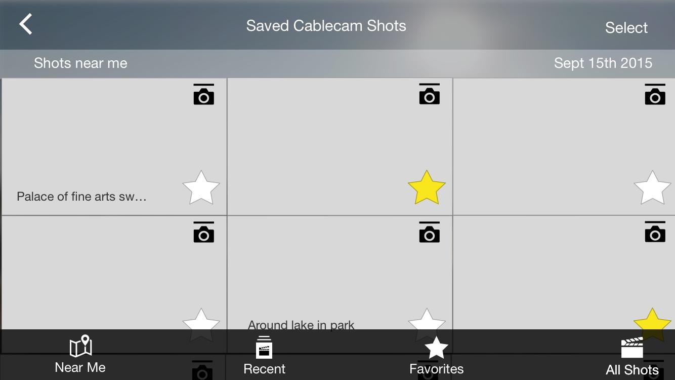 Smart Shot List Concept